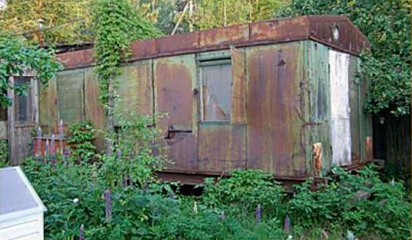 старый вагончик