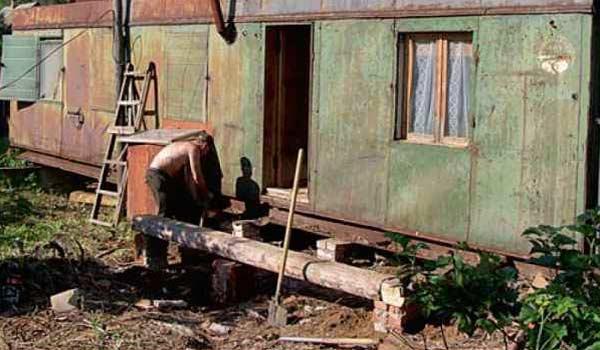Дом из вагона